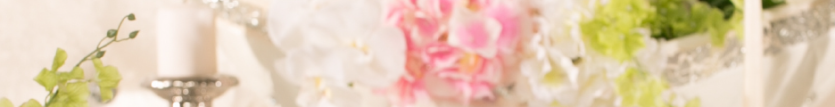 Floral closup banner